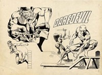ToonSeum exhibit When Worlds Collide: The Ultimate Superhero Smackdown