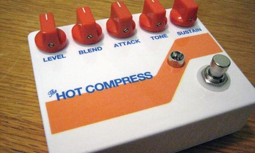 """Trevor Baker's """"Hot Compress"""" pedal"""