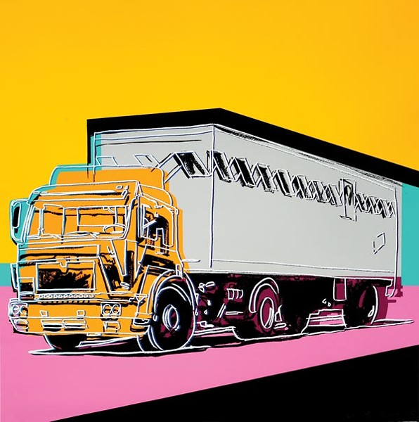 """Truck,""by Andy Warhol"