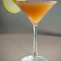 Truth Truth Lounge's Apple Cider Martini Photo by Heather Mull