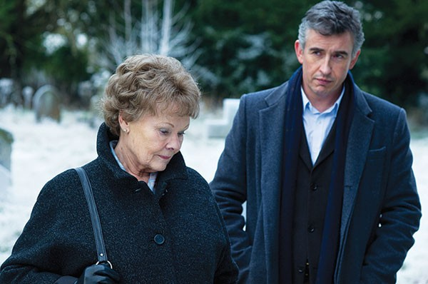 Two for the road: Judi Dench and Steve Coogan
