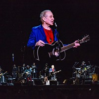 Paul Simon performs at PPG Paints Arena on Mon., Sept. 17, 2018.