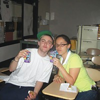 Apple juice and cookies with Mac Miller at Taylor Allderdice
