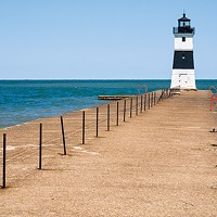 Presque Isle State Park has beaches, trails, and a whole lot of birds