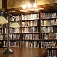 A view of the interior of Carnegie Library.