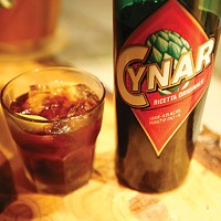 Cynar, the bitter Italian liqueur made with artichokes is everywhere in Pittsburgh, and it's delicious