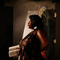 Vanessa German in character as Ma Rainey in August Wilson's <i>Ma Rainey's Black Bottom</i> in September