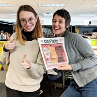 Pittsburgh City Paper staff writer Hannah Lynn and senior writer Amanda Waltz