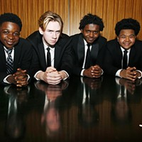 Funky Fly Project (L-R): Brandon Terry, Henry Schultz, Eric Dowdell, Jr., and Winston Bell