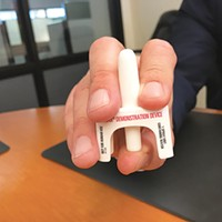 Emergent BioSolutions's naloxone nasal-spray device