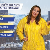 WTAE meteorologist Ashley Dougherty