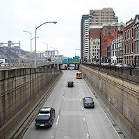 The 'bathtub' section along interstate 376