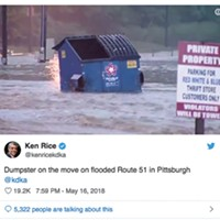 Pittsburghers of the Year: Floating Dumpster