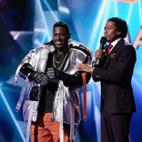 Steelers WR Antonio Brown is the only known contestant on <i>The Masked Singer</i>