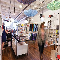 The Mattress Factory store includes items from Pittsburgh artists.
