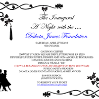 A Night with the Dakota James Foundation