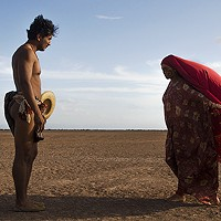 José Acosta and Natalia Reyes in Birds of Passage