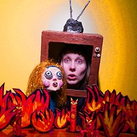 Experience the organized chaos of Murphi Cook's circus-lecture play <i>Diablerie, or the Last Puppet Show</i>