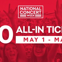 National Concert Week kicks off May 1