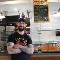 Kevin Konn of Romulus Pizza al Taglio
