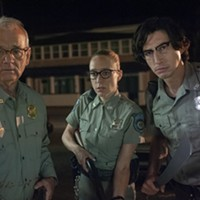 Bill Murray, Chloe Sevigny, and Adam Driver in <i>The Dead Don't Die</i>