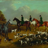 <i>Waiting at the Meet</i>, 1832. Edwin Cooper