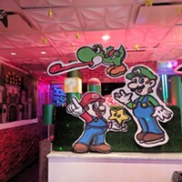 Inside Level Up in Downtown Pittsburgh