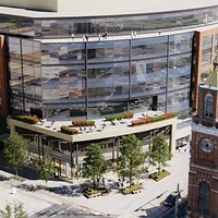 Artist's rendering of Brickworks at 21st and Smallman Streets