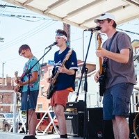 Over 350 bands played on over 35 stages throughout the weekend.