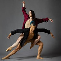 Dancers and choreographers Madeline Kendall and Alan Obuzor
