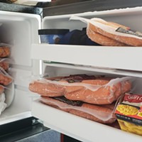Freezer hot dogs. Colder than fridge hot dogs.