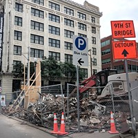 Rosa Villa's longstanding building on Pittsburgh's North Side comes down
