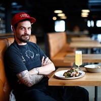 Cinderlands Warehouse executive chef Joe Heifer