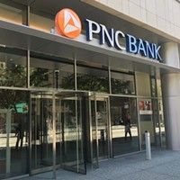 PNC Bank branch in Downtown Pittsburgh