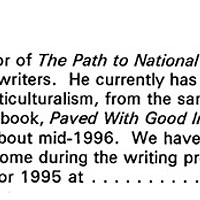 Screenshot from the 1995 correspondence sent to<i> Pittsburgh City Paper</i>