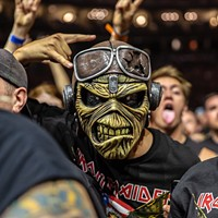 An Iron Maiden fan dressed as Eddie at the band's sold-out show at PPG Paints Arena on Sat., Aug. 17