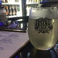 Arsenal Grierson's Ginger Cider at Italina VIllage Pizza