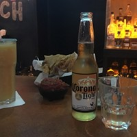 Corona Light and Sauza tequila at Mad Mex