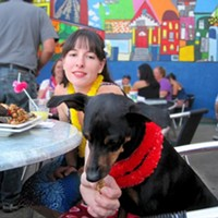 South Side's Double Wide Grill has a dog patio, ready to serve you and your furry pal