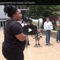 Activists Protest Inmate Deaths at Allegheny County Jail