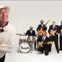 Los Straitjackets play Club Cafe tonight