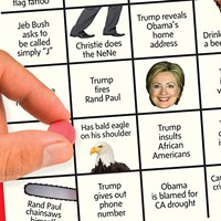 Liven up the Republican primary debate with this set of six unique bingo cards