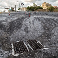 Grounds for discussion: The former Civic Arena site, now a parking lot.