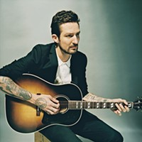 A long way from his early days playing house parties, British folk-punk artist Frank Turner is selling out venues around the world