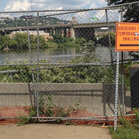 Riverfront bike/ped trail to reopen to the Strip District