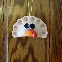 To be a true Pittsburgher, you need a Thanksgiving-themed pierogie ornament