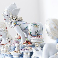 <i>Forbidden Fruit</i> takes Meissen porcelain to the edge of irreverence