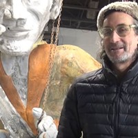 Pittsburgh artist James Simon opens his studio of giant musician sculptures