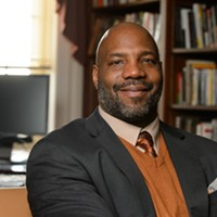 "Author Jelani Cobb speaks tomorrow on ""Race and Justice"""