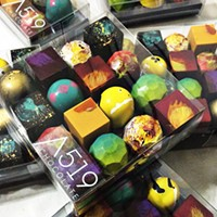 A519's colorful chocolates